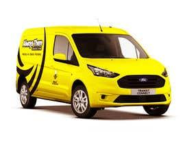 #64 for Vehicle Wrap Design for HVAC company af Rizwandesign7