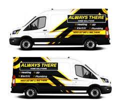 #85 for Vehicle Wrap Design for HVAC company af Rizwandesign7