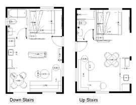#74 for Design room layout for two 300 sq ft studio apartments by Abugad