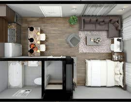 #71 for Design room layout for two 300 sq ft studio apartments by rasheda88