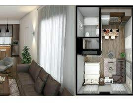 #91 for Design room layout for two 300 sq ft studio apartments by rasheda88