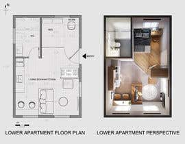#104 for Design room layout for two 300 sq ft studio apartments by ninhquang