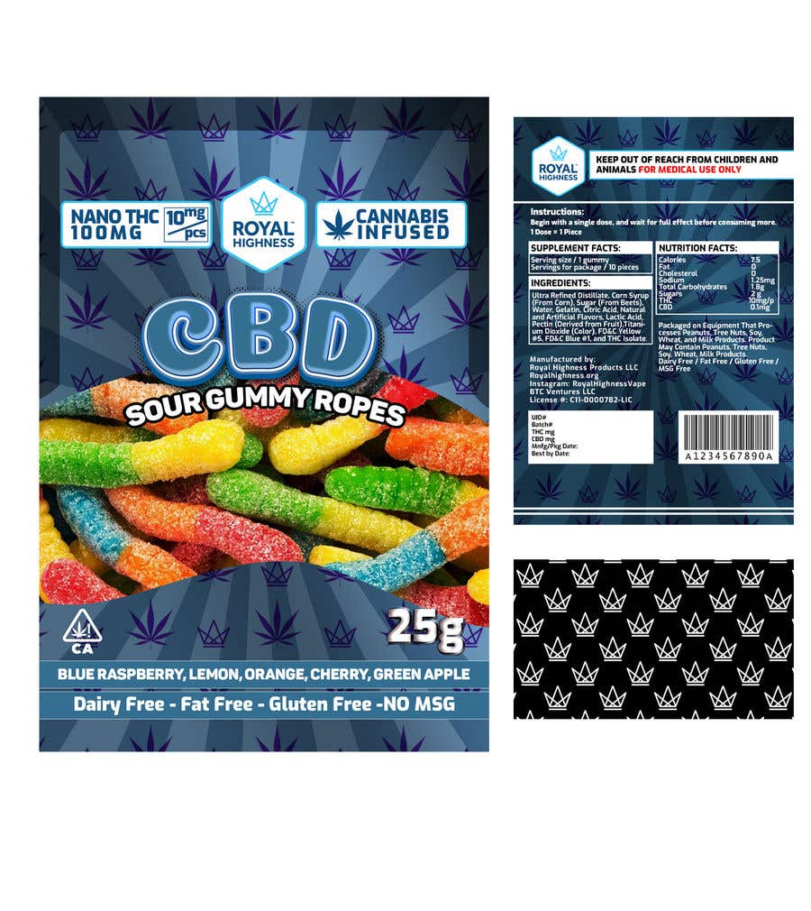 Bài tham dự cuộc thi #                                        49                                      cho                                         Gummy Packaging Designs