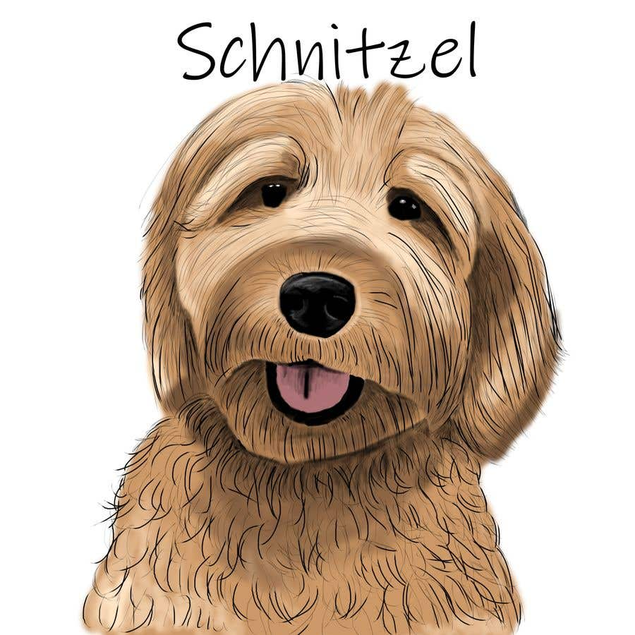Contest Entry #                                        9                                      for                                         Create Cartoon Picture / Photo of a Dog