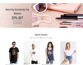 #4 для Bespoke Clothier Homepage Mock-Up от ravisondagar125