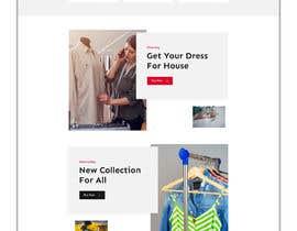 #14 для Bespoke Clothier Homepage Mock-Up от rafiulahmed24