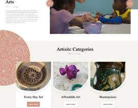 nº 6 pour Homepage Mock-Up for Amish Furniture Website par bordersandlines