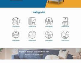 nº 15 pour Homepage Mock-Up for Amish Furniture Website par shihan96