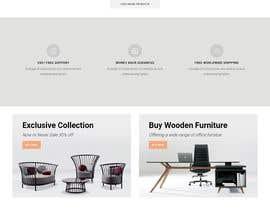 nº 4 pour Homepage Mock-Up for Amish Furniture Website par Sksawpon2030