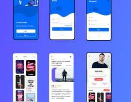 #3 for UX/UI for mobile speed reading app by eidendiaz