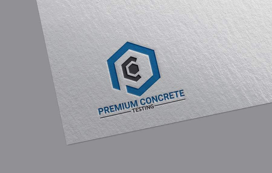 Contest Entry #                                        52                                      for                                         Design a Logo for a Concrete Testing Company