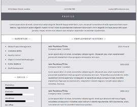 #124 for $15 per single page resume WEBSITE - Submit a quality responsive resume website and I might buy it af ronylancer