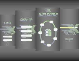 Nro 8 kilpailuun Screen design käyttäjältä horst5mayer