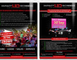 #28 pentru Design a Flyer for Impact LED Screens de către Mimi214