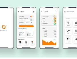 nº 57 pour Design 2 screens for a Payslip App par HasanurMamun