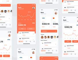 nº 33 pour Design 2 screens for a Payslip App par rakibul3406