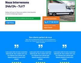 Nro 12 kilpailuun Design landing page käyttäjältä pardworker