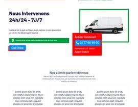 Nro 27 kilpailuun Design landing page käyttäjältä pardworker