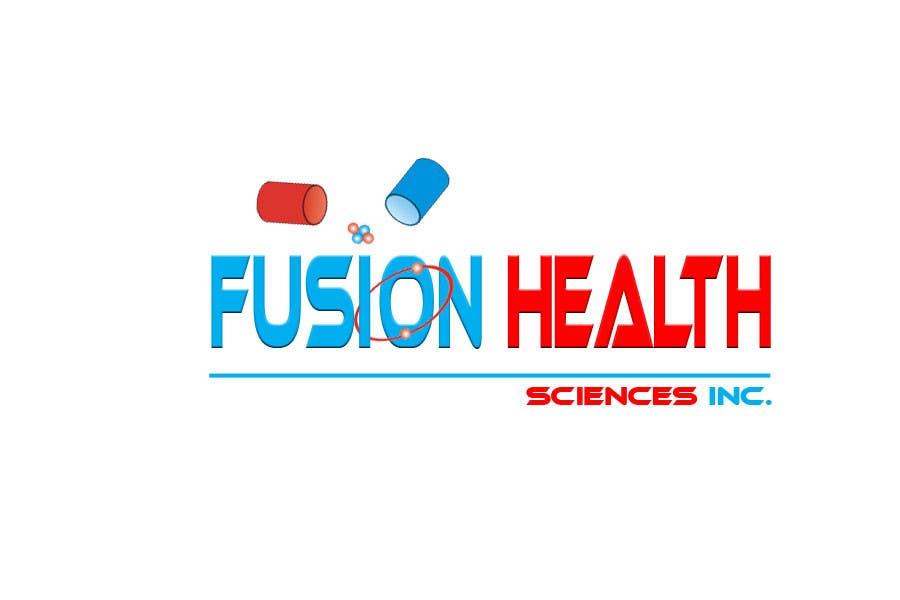 Inscrição nº 102 do Concurso para Logo Design for Fusion Health Sciences Inc.