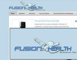 #82 para Logo Design for Fusion Health Sciences Inc. por arjen17