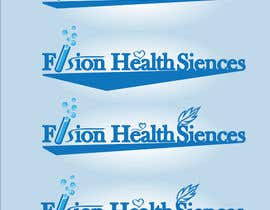 #98 para Logo Design for Fusion Health Sciences Inc. por luciofercios