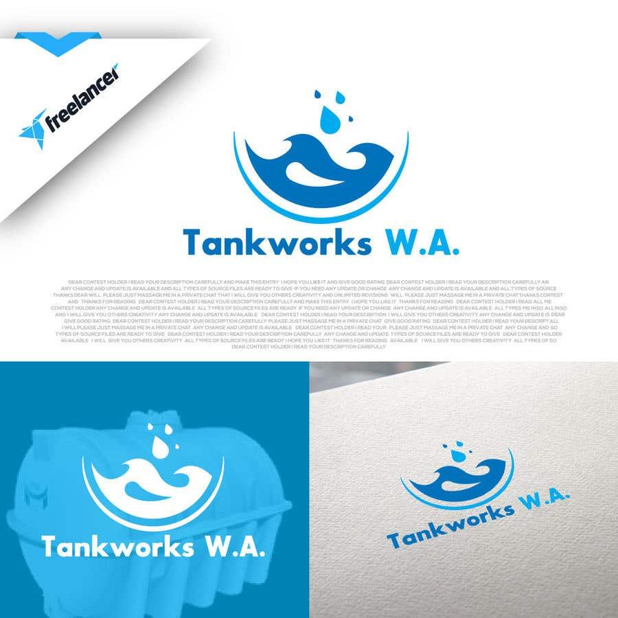 Penyertaan Peraduan #                                        38                                      untuk                                         Design me some business logos - Tankworks WA