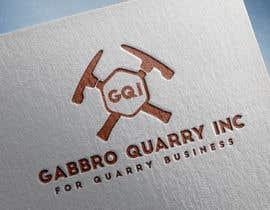 #132 untuk LOGO Design For Quarry Business oleh asa59566ac87c985