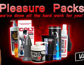 MintKK tarafından Design a Banner for my Adult Website (pleasure packs) için no 46
