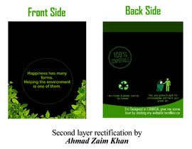 #35 for Design for a plastic bag af AhmadZaimkhan27