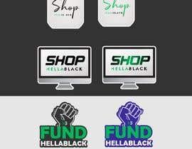 #16 for HellaBlack Sticker af ConceptGRAPHIC