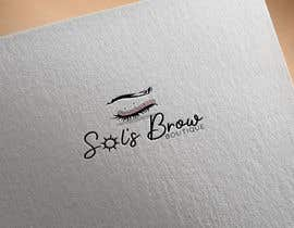 #43 for Logo for Sol's Brow Boutique af RebecaCortezao