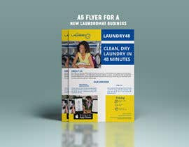 #7 for Design an A5 flyer for a new Laundromat business by mdjahidul306