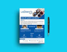 #46 for Design an A5 flyer for a new Laundromat business by DesignerAhsan25