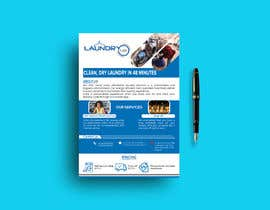#48 for Design an A5 flyer for a new Laundromat business by DesignerAhsan25