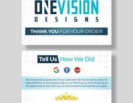 Nro 22 kilpailuun Create a Professional Post Card Designs for Reviews käyttäjältä Fazlul01