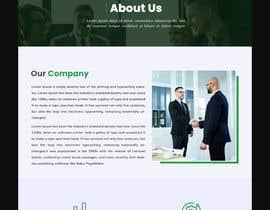 Nro 44 kilpailuun Corporate Profile - Website, Single Page Flyer Design & Email Marketing Newsletter käyttäjältä Nahidrbh