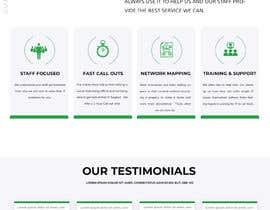 Nro 45 kilpailuun Corporate Profile - Website, Single Page Flyer Design & Email Marketing Newsletter käyttäjältä Nahidrbh
