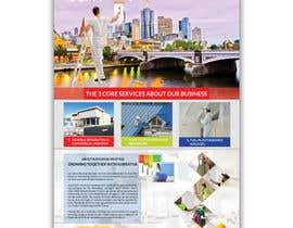 Nro 28 kilpailuun Graphic design for 1 page advertisement käyttäjältä shorifuddin177