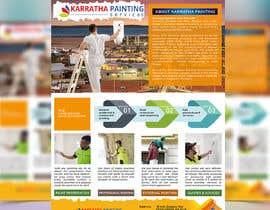 Nro 123 kilpailuun Graphic design for 1 page advertisement käyttäjältä mollariyad7867
