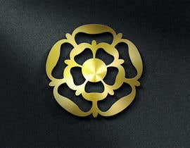 #1 untuk Design Tudor Rose as a Gold Emblem/Badge for Small Leather Goods oleh OvidiuSV