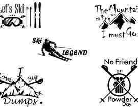 #15 untuk Ski illustrations oleh Saqibrd