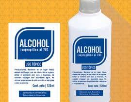 #22 para Diseño de etiqueta de Alcohol / Design label for alcohol (Serigrafia) de vmrdiez