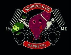 Nro 34 kilpailuun Make a logo for motorcycle club käyttäjältä yisethpacheco