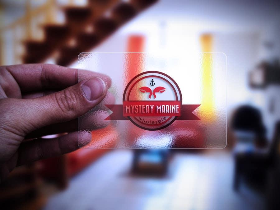 Konkurrenceindlæg #                                        19                                      for                                         Logo Design for Mystery Marine Wholesale