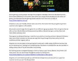 #5 for Content writing for online games shop by crystalcreekwebd