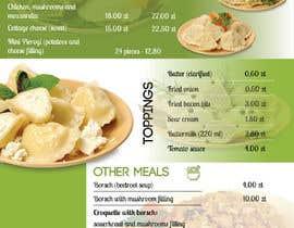 #25 for Refresh restaurant menu by sohanul09