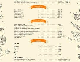 #22 for Refresh restaurant menu by mdrahad114