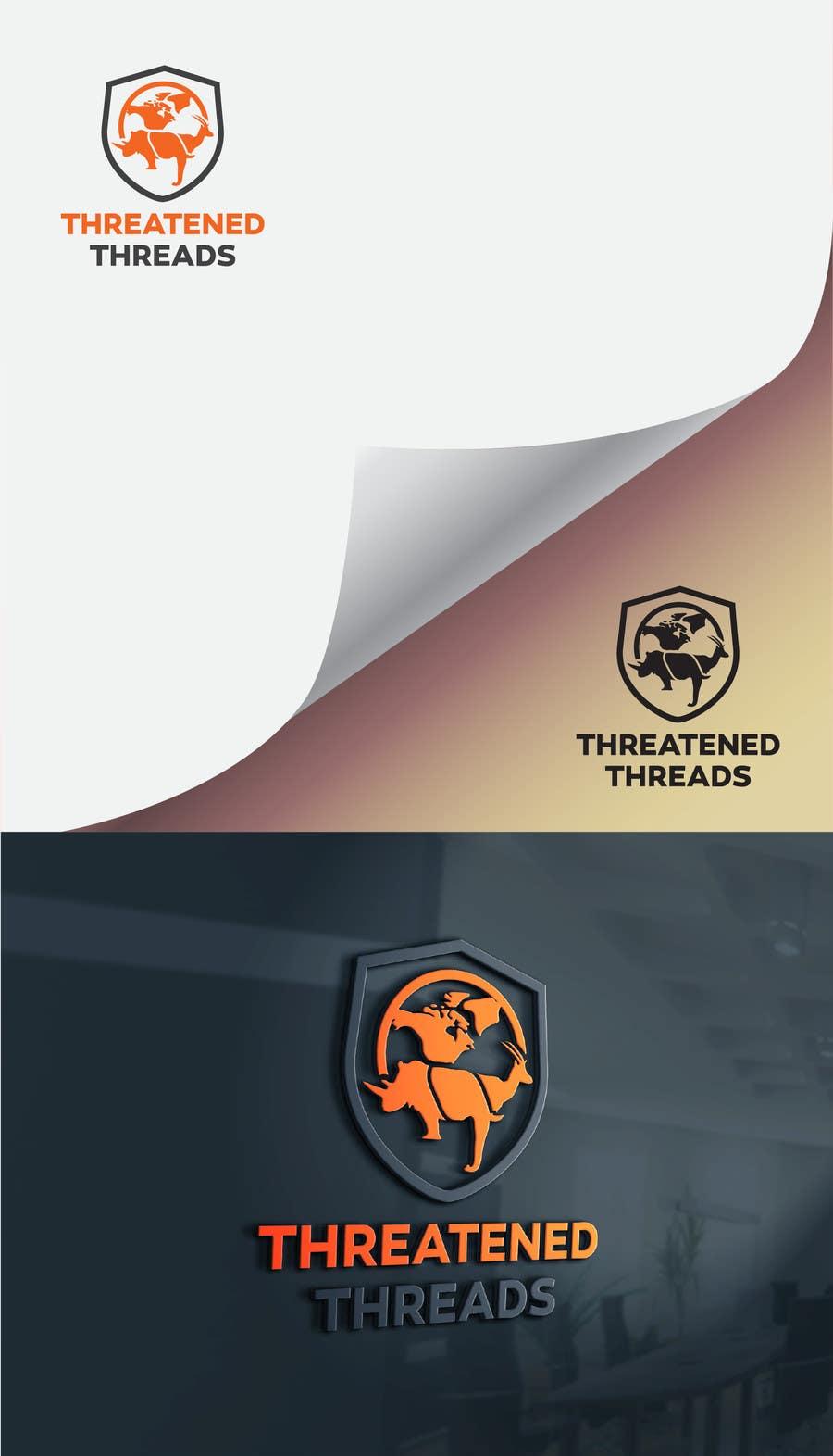 "Kilpailutyö #38 kilpailussa Design a Logo for ""Threatened Threads"""