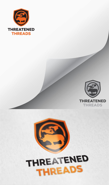 "Kilpailutyö #81 kilpailussa Design a Logo for ""Threatened Threads"""