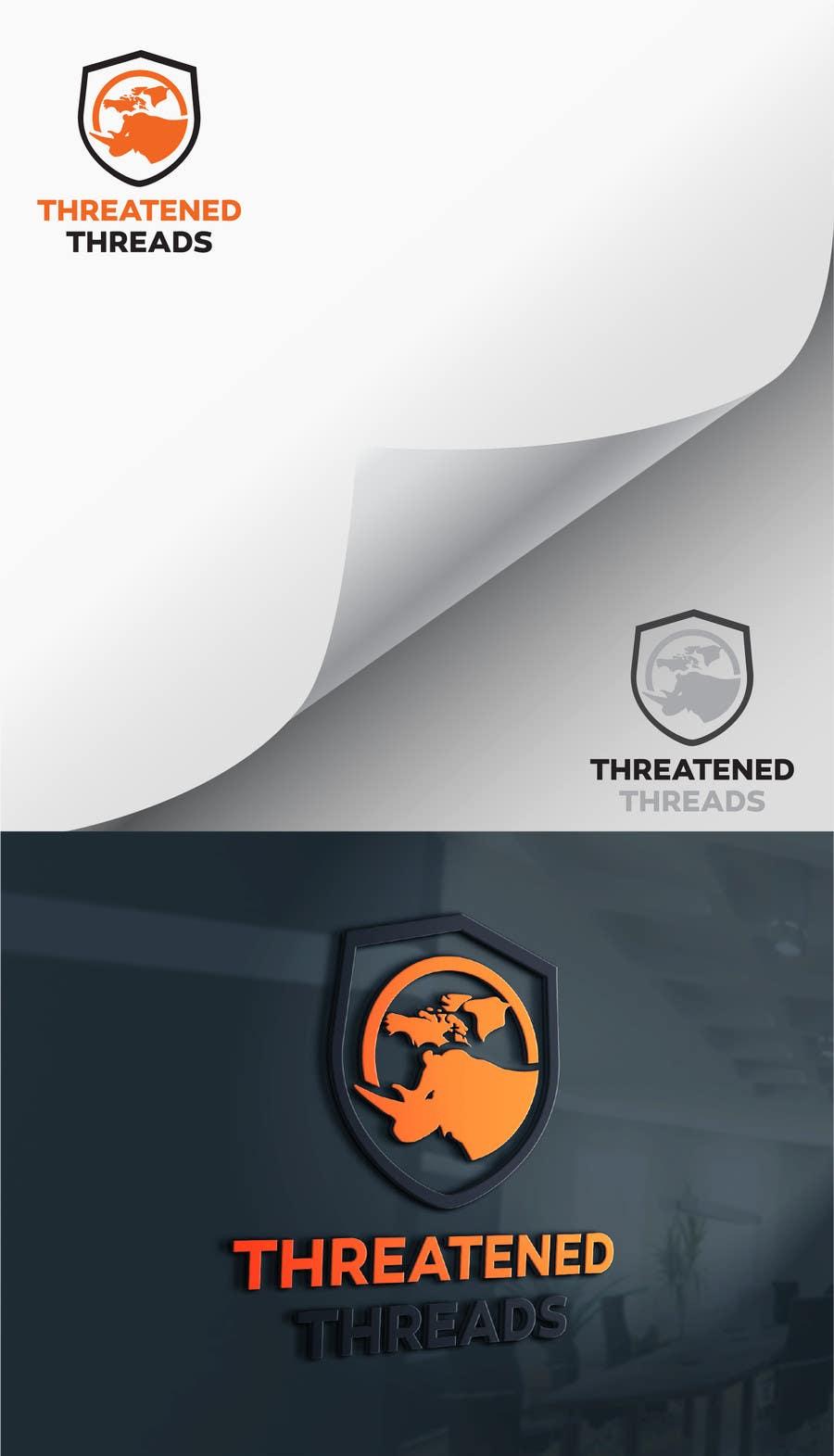 "Kilpailutyö #84 kilpailussa Design a Logo for ""Threatened Threads"""